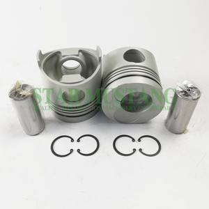 Construction Machinery Excavator EH700 Piston With Pin Chamber 54mm Engine Repair Parts 13216-1890