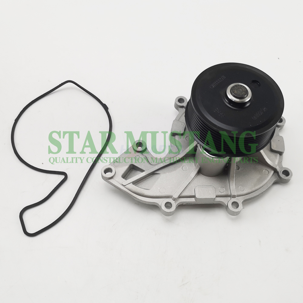 Construction Machinery Excavator QSB3.8 Water Pump Engine Repair Parts