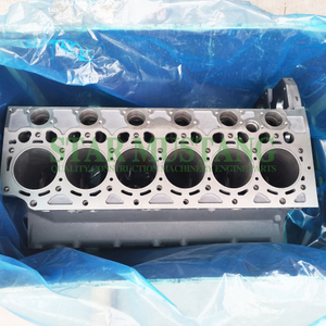 Construction Machinery Excavator D6D Cylinder Block Engine Repair Parts