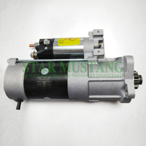 Construction Machinery Excavator S6E E320B E320C E320D Starter Motor 24V 10T 5.5KW Repair Parts