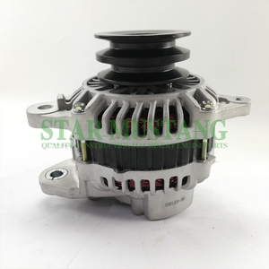 Construction Machinery Diesel Engine Spare Parts Excavator Alternator 4M40