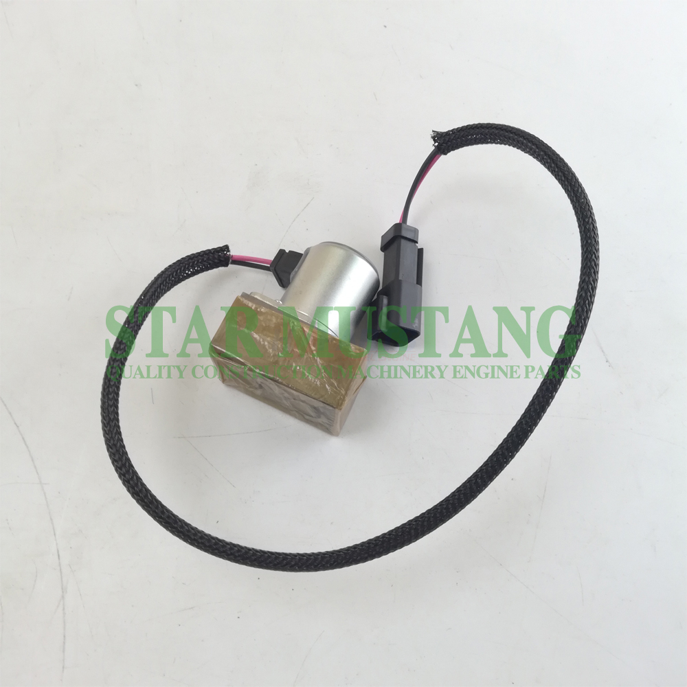 Construction Machinery Diesel Engine Spare Parts Excavator Solenoid Valve 702-21-57400