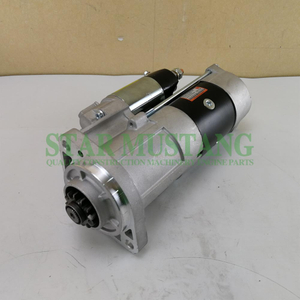 Construction Machinery Diesel Engine Spare Parts Excavator Starter Motor D6E EC240 EC290 24V 12T