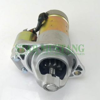 Construction Machinery Diesel Engine Spare Parts Excavator Starter Motor 4TNV84 4TNE84 12V 1.4KW 11T