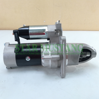 Construction Machinery Diesel Engine Spare Parts Excavator Starter Motor 6D22 D6AC 3Holes 13T 5.5KW 24V