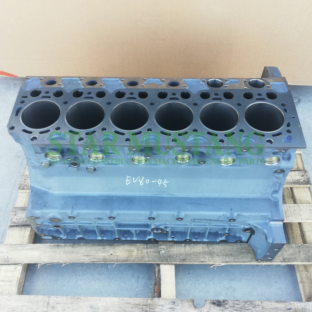 Construction Machinery Excavator D6E Cylinder Block Engine Repair Parts