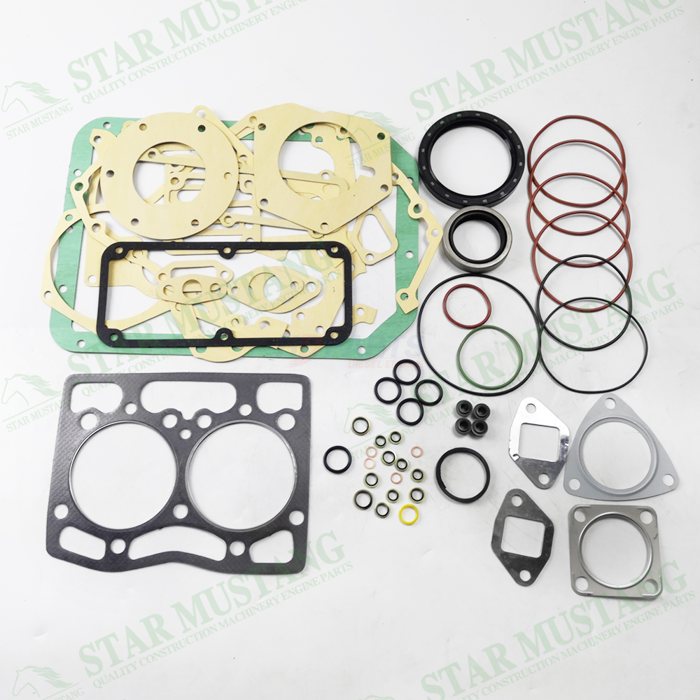 Construction Machinery Excavator 2D92 Full Gasket Kit Diesel Engine Overhaul Repair Parts