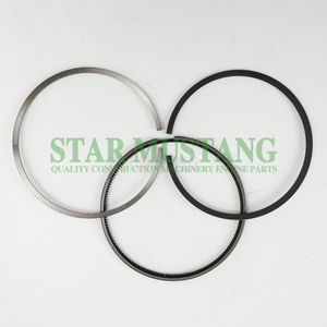 Construction Machinery Excavator 14B Piston Ring Sets Engine Repair Parts