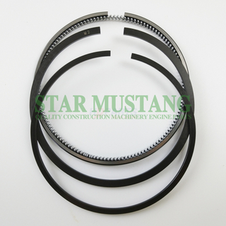 Construction Machinery Excavator V2403 Piston Ring Sets Flat Engine Repair Parts