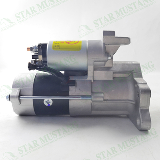 4D34 Starter Motor 24V 9T 3.7KW Construction Machinery Excavator Engine Parts