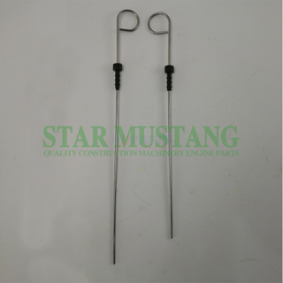 4TNV94 31cm 4D84 35cm Hydraulic Oil Dipstick For Construction Machinery Excavator