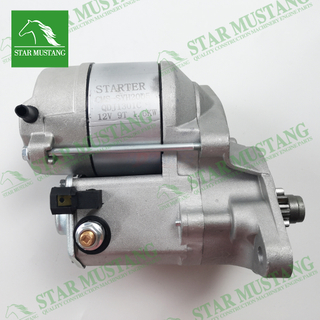 D1105 Starter Motor 12V 9T 1.6KW Construction Machinery Excavator Engine Parts