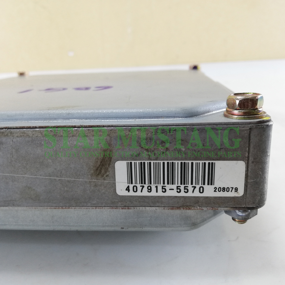 Excavator Repair Parts 6BG1 SH200-3 ECU Controller Electronic Control Unit 407915-5570 Second-Hand