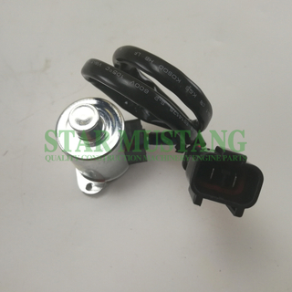 Construction Machinery Diesel Engine Spare Parts Excavator Rotary Solenoid Valve PC55 PC30 PC40 12V