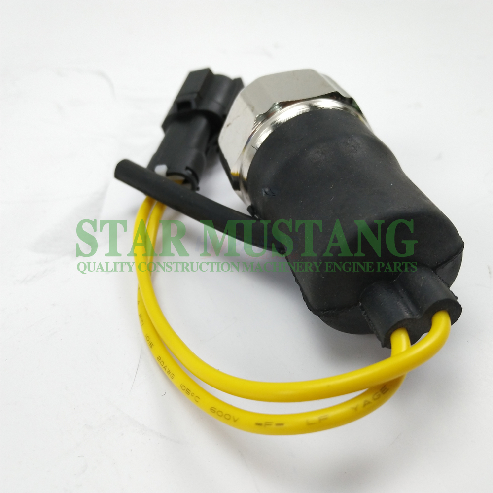 Construction Machinery Diesel Engine Spare Parts Excavator Oil Sensor 6BG1