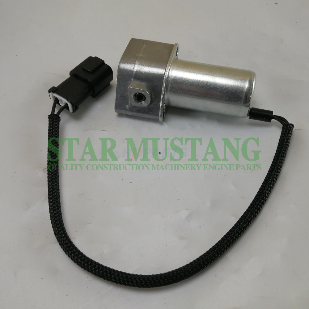 Construction Machinery Diesel Engine Spare Parts Excavator Solenoid Valve 702-21-07010