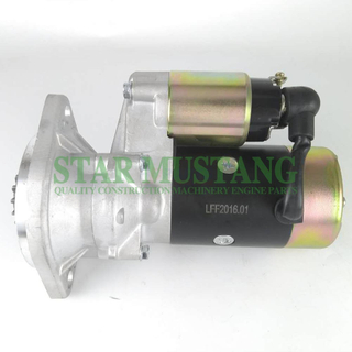 Construction Machinery Diesel Engine Spare Parts Excavator Starter Motor 4TNE88