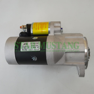 Construction Machinery Diesel Engine Spare Parts Excavator Starter Motor 4TNE94 12V 2.8KW 9T
