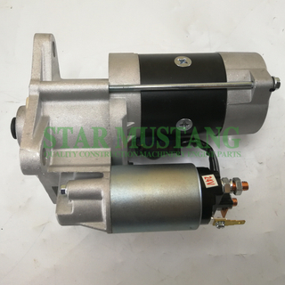 Construction Machinery Diesel Engine Spare Parts Excavator Starter Motor D4BB 24V 9T 3.2KW