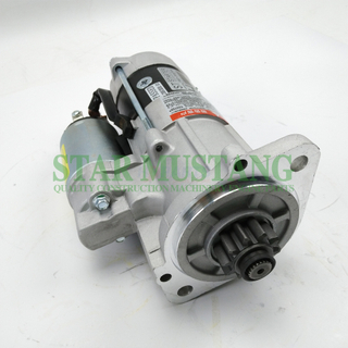 Construction Machinery Diesel Engine Spare Parts Excavator Starter Motor 4DQ3 S4S 12V 10T