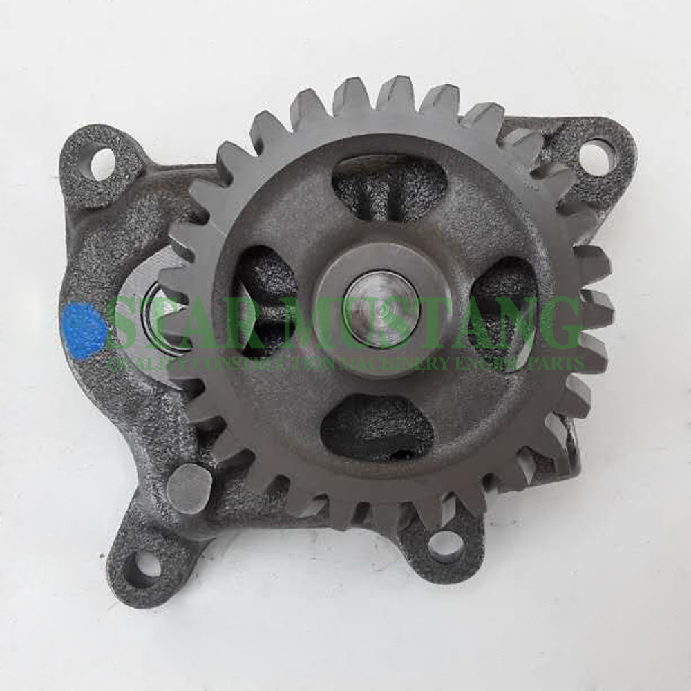 Construction Machinery Excavator 4HK1 Oil Pump Engine Repair Parts