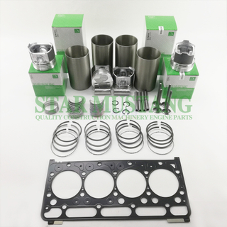Construction Machinery Excavator V2203 Overhaul Repair Gasket Kit Diesel Engine Piston Liner Repair Parts