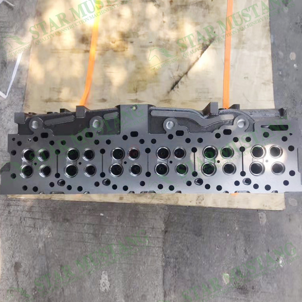Construction Machinery Excavator C18 Cylinder Head Assembly Engine Repair Parts 281-1640