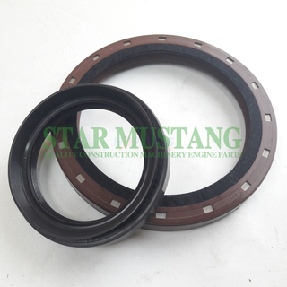 Construction Machinery Excavator Engine Spare Parts Crankshaft Oil Seal Kit 4TNV106