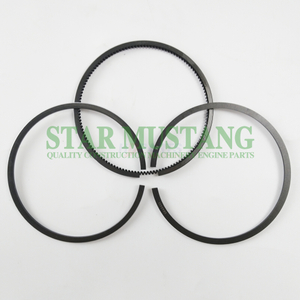 Construction Machinery Excavator WD10G220E11 Piston Ring Sets Engine Repair Parts