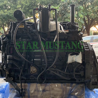 Construction Machinery Excavator QSB6.7 Diesel Engine Assembly Repair Parts