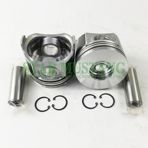 Construction Machinery Excavator V2607 Piston With Pin Chamber 40mm Engine Repair Parts 1J701-2112