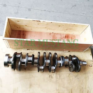 Construction Machinery Excavator C7.1 Crankshaft Forged Steel Original Engine Repair Parts