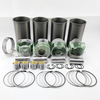 Piston Liner Kit 4HE1 Repair Overhaul Parts Construction Machinery Excavator Engine parts 6960