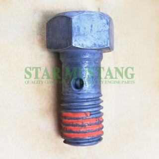 Construction Machinery Excavator 6D15 Oil Nozzle Bolt Engine Repair Parts ME051712 Original