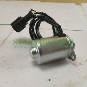 Construction Machinery Diesel Engine Spare Parts Excavator Rotary Solenoid Valve PC200-7