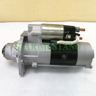 Construction Machinery Diesel Engine Spare Parts Excavator Starter Motor 6M60 24V 11T 5.5KW
