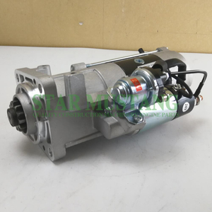 Construction Machinery Diesel Engine Spare Parts Excavator Starter Motor EC210 24V 5.5KW 12T