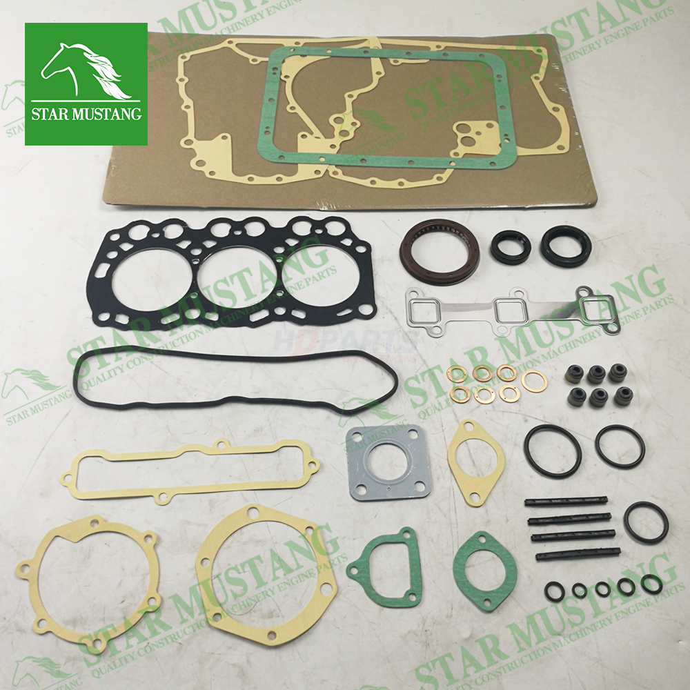 Excavator Machinery Engine L3E Full Gasket Kit Overhaul Head Set Repair Parts