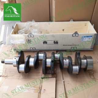 Construction Machinery Excavator YZ4102ZLQ YZ4D37 L675 Crankshaft 52mm Engine Repair Parts Original