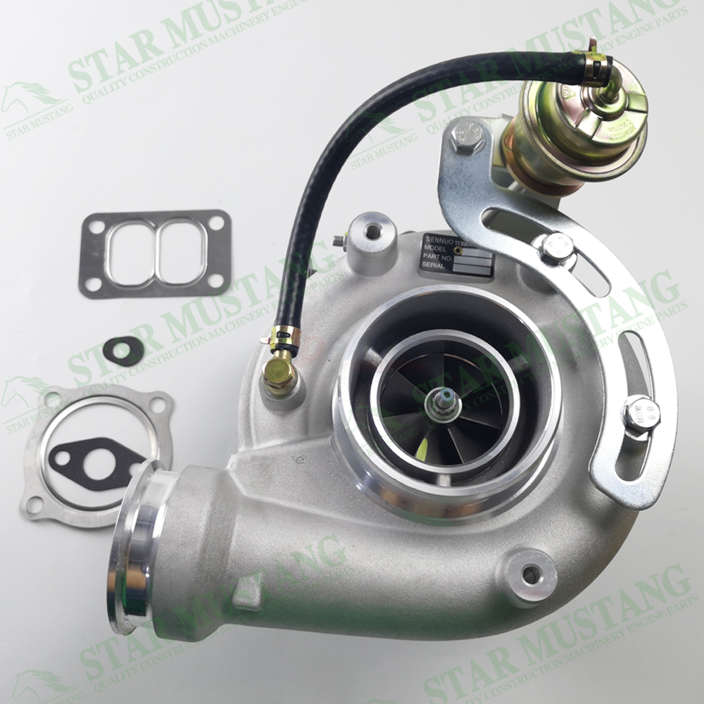 Construction Machinery Excavator S200G Turbo Charger With Valve Engine Repair Parts 12709880018