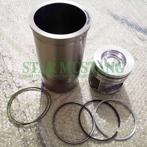 Construction Machinery Excavator D8K EC350 Cylinder Piston Liner Kit Engine Repair Parts