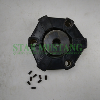 Excavator Parts Rubber Coupling Assy 16AS For Construction Machinery