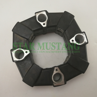 Excavator Parts Rubber Coupling 80A For Construction Machinery
