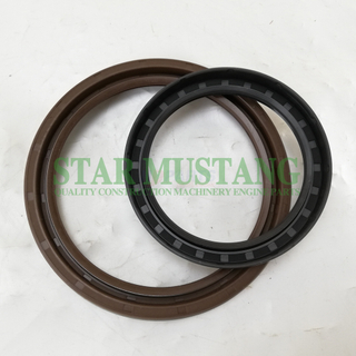 Construction Machinery Excavator Engine Spare Parts Crankshaft Oil Seal Kit 6DB10
