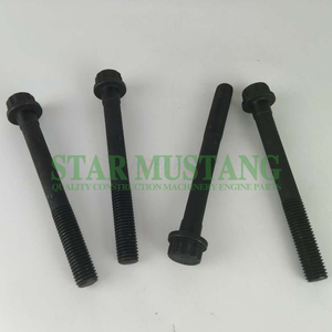 Diesel Engine Construction Machinery Engine Parts Excavator Cylinder Head Bolt 6D14 6D16 Short