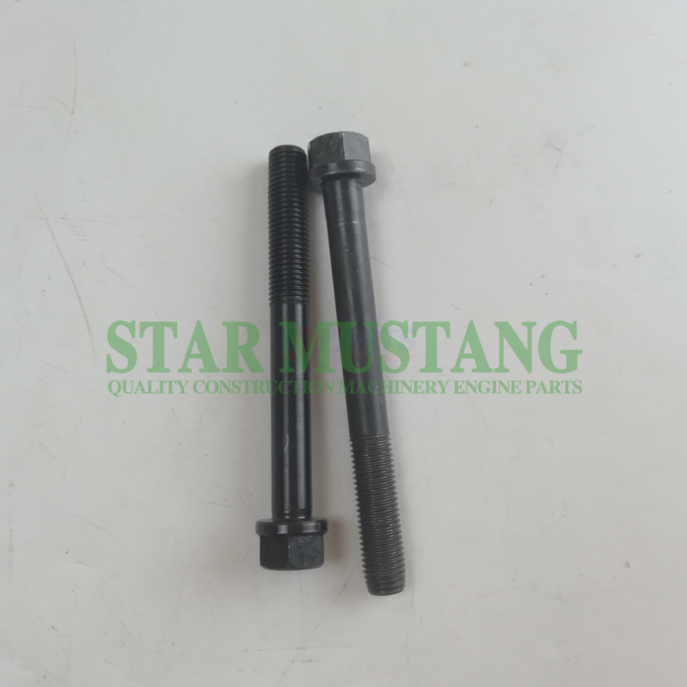 Diesel Engine Construction Machinery Engine Parts Excavator Cylinder Head Bolt 6BD1