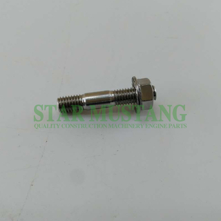 Diesel Engine Construction Machinery Engine Parts Excavator Exhaust Pipe Bolt 4M40