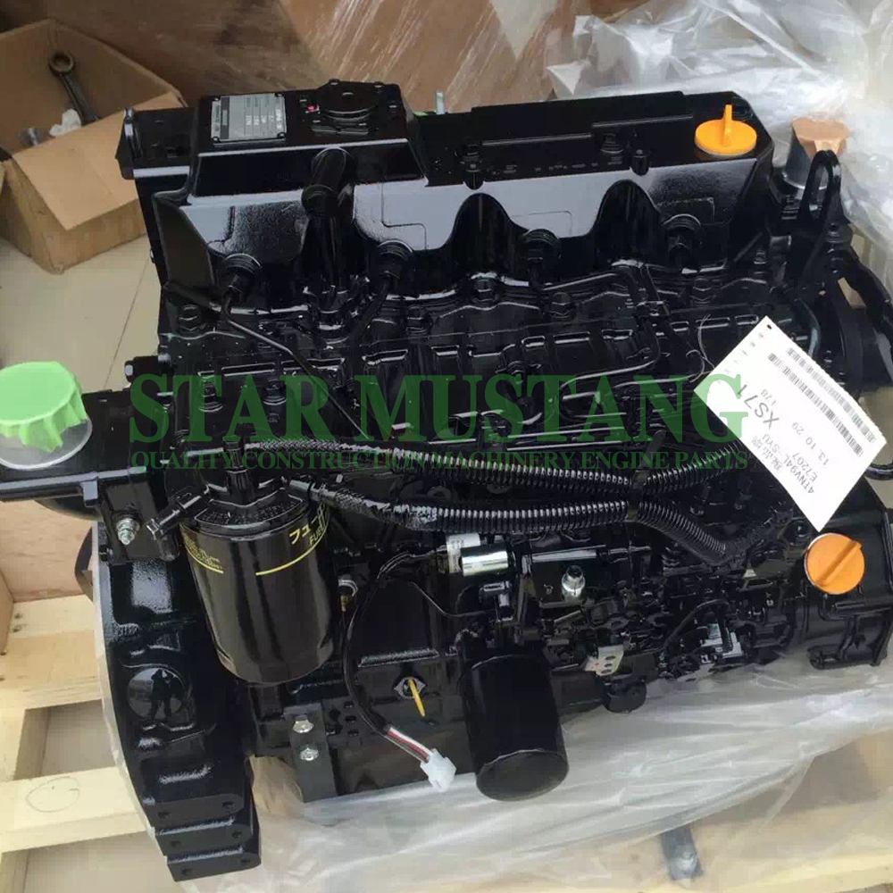 Construction Machinery Excavator 4TNV94 Diesel Engine Assembly Repair Parts