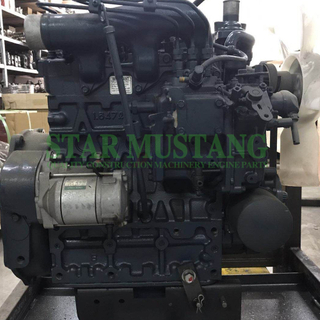 Construction Machinery Excavator D1703 Diesel Engine Assembly Repair Parts