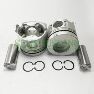 Construction Machinery Excavator H07D Piston With Pin 37mm Engine Repair Parts 13216-2260